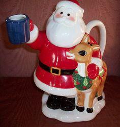 Retired Lenox Rudolph The Red Nosed Reindeer Teapot Original Box Great Gift | eBay