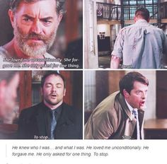 Wow. I adore the Castiel/Collette parallels, but I didn't even catch this one and now im crying... again.