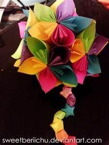 colorful art flower