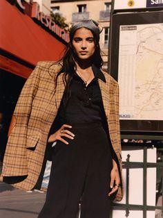 Amrit Kaur Models The Season's '70s Inspired Pieces | PORTER 70s Inspired Fashion, 70s Fashion, Fashion Tips, Daily Fashion, Street Fashion, Bohemian Blouses, Vintage Models, Fashion Story, Fall Wardrobe