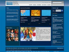 Services - Web Design/Development | Pacific Pension Institute