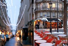 Beautiful Île Saint Louis by Paris in Four Months, via Flickr