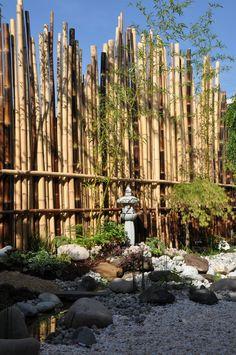 Jardin japonais à Enghien-les-Bains (Val d'Oise - France). Création et photo Taffin.