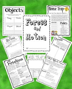 Here's a terrific set of materials on motion and forces.