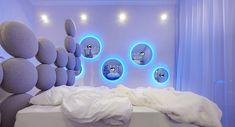Architect Simone Micheli Has Designed A Swan Themed Hotel Room In Milan