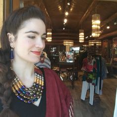 We're at Belle Cose today and tomorrow in Jackson Hole, Wyoming! 307 733 0233  #MashaArcher #statementjewelry #jewelry