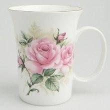 Set of 4 Rose Bouquet Bone China Mugs - Mugs And Tankards - Roses And Teacups China Teapot, China Tea Cups, China Mugs, Porcelain Mugs, China Porcelain, Mugs Set, Tea Mugs, Café Chocolate, Pretty Mugs