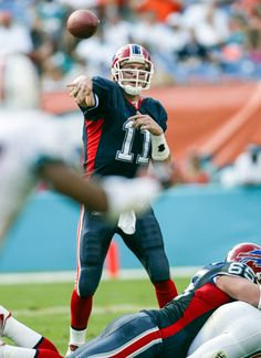 Drew Bledsoe : To the end zone: NFL leaders in career passing touchdowns