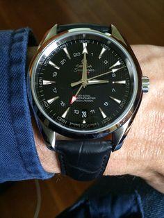 OMEGA Seamaster Aqua Terra GMT Chronometer In Stainless Steel