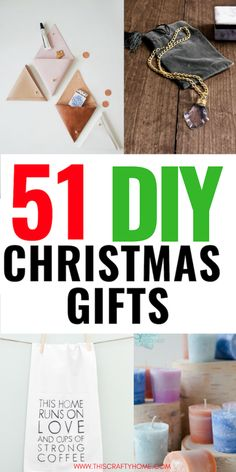51 Creative DIY Christmas Gifts Unique DIY Christmas gifts for all your friends and family! DIY Christmas gifts are a great way to save money at Christmastime without looking cheap. Diy Christmas Gifts For Friends, Cheap Christmas Gifts, Diy Gifts For Kids, Easy Diy Gifts, Handmade Christmas Gifts, Cheap Gifts, Christmas Diy, Creative Gifts, Homemade Gifts For Friends