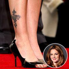 Samsons Blog Drew Barrymore Tattoos One Of My Favorite Ever