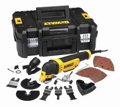 DeWALT Oscillating Kit supplied by Power Tools UK leading industrial stockist of DeWALT Oscillating Tools and DeWALT Accessories for corded and cordless Multi Tools including this DeWALT Oscillating Kit 5035048460764 Dewalt Tools, Dewalt Tool Box, Dremel 3000, Dremel Tool, Hobby Tools, Diy Tools, Oscillating Tool, Multi Usage, Hex Key