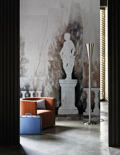 Giunone www.wallanddeco.com #wallpaper, #wallcovering, #cartedaparati