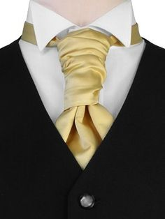 I suppose this would probably be my new way of tying a neck tie :D -scrunchie cravat.