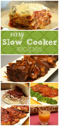 Easy Crock Pot Recipes from It's a Keeper