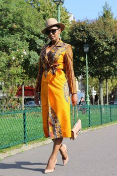 Elegant Dashiki Ladies Blazer Gown  | OutOfAfrikaWears -  on ArtFire