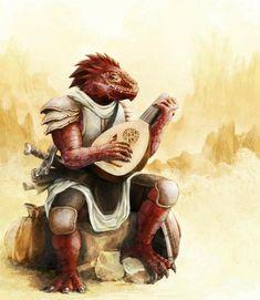 """""""Porque não acreditam que eu matei aquele guerreiro? EU SOU UM DRAGÃO"""" dragonborn bard"""