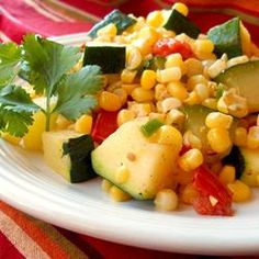 """Zucchini with Corn, Reviewed by: CALISUNSH9 