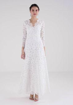 51c245aded FLARED DRESS - Festklänning - snow white   Zalando.se 🛒. IVY   OAK ...