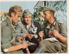 Third Reich Color Pictures: Kriegsberichter in Color