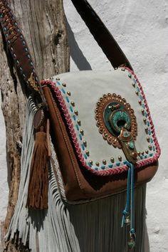 Bohemian Studded Bag