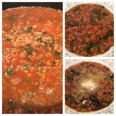 Swiss Chard & Lentils Soup