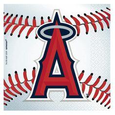 #LosAngeles #Angels #Baseball - Beverage Napkins, 76151.   $7 for 36 #BarrysTickets