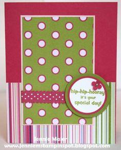 Stampin' Up Happiest Birthday Wishes stamp set