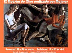 Cartel IX Muestra de Cine Realizado por Mujeres Huesca 2009