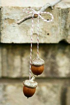 TINY DECORATION #acorns