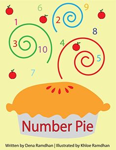 Kindergarten Books, Dena, Good Books, Numbers, Writing, Reading, Children, Counting, Pie