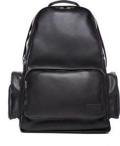 Kris Van Assche Backpack in Black on shopstyle.com