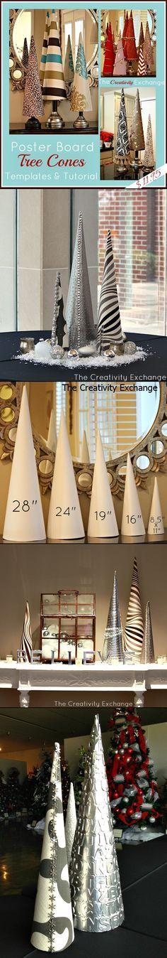 Tree cone inspiration! #DIY #craft #christmas
