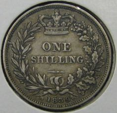"British Shilling…""Old Money"""