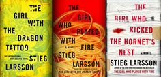 The Millenium Trilogy by Stieg Larsson