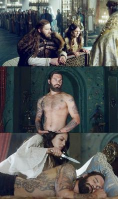 Gisla x Rollo | season 4 Vikings | I cried laughing... this was so cute! I love the ship already!