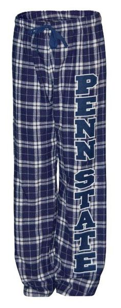 The Family Clothesline - Penn State Flannel Pants With Pockets