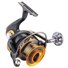 Comprar carrete de spinning Lixada 13  1BB Rodamientos Pesca Surfcasting de Larga Distancia de Carrete Izquierda Convertible Plegable Mango Spinning Reel