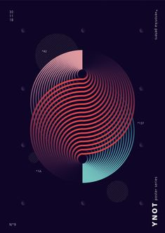 A modern, contemporary, abstract series of graphic design posters, created by simple forms and gradient. Graphic Design Lessons, Graphic Design Posters, Graphic Design Inspiration, Newspaper Design Layout, Layout Design, Logo Design, Music Visualization, Jewelry Design Drawing, Background Design Vector