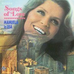 """Songs of Love. Tyske Manuela synger """"Jack in the box"""" og """"All kinds of everything"""" på Engelsk. #ESC70 #ESC71"""