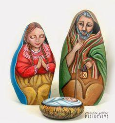 Sassi a p-arte: Nuove Natività