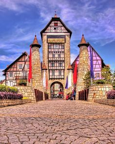 Colmar (north eastern france)