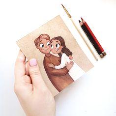 No photo description available. Amazing Drawings, Beautiful Drawings, Cute Drawings, Disney Drawings, Cartoon Drawings, Cute Illustration, Watercolor Illustration, Person Drawing, Sketch Painting