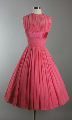 1950s - rayon & chiffon
