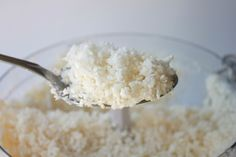 Cauliflower Rice - good substitute for rice, though it still tastes like cauliflower