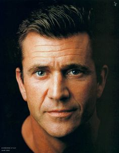 Mel Gibson-Famous people suffering with Bipolar Disorder - no matter what he does he is a charmer.