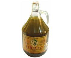 Zafra || Aceite de Oliva Virgen Extra Ecológico Viriato. Garrafa de Vidrio de 5 L. Un aroma intensamente frutado a manzana verde, amargo y picante, con retrogusto ligero a almendrado. 36 cajas por pallet.  Caja de 4 unidades.