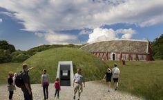 Historisk vikingehal bliver genskabt i Lejre   Videnskab.dk