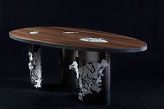 """Table from """"collect-xion"""" furniture line designed by Françoise Fredj Weill"""