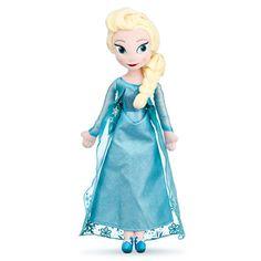 Elsa Plush Doll - Frozen - 20''